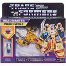 Transformers Retro Headmaster Weirdwolf and Monxo