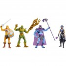 Masters Of The Universe Revelation Wave 1 Set of 4 Action Figures