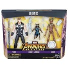 BLACK FRIDAY Marvel Legends 3 Pack Thor Rocket & Groot