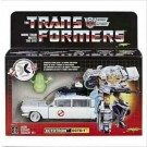 Transformers Ghostbusters Crossover Ectotron Ecto 1 Figure ( G1 Style Box 1st Release )