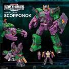 Guerra de Transformers para Cybertron Earthrise Titan Scorponok
