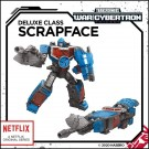 Transformers War For Cybertron Siege Scrapface Netflix Exclusive