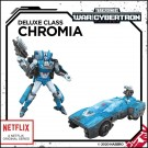Transformers War For Cybertron Siege Chromia Netflix Exclusive