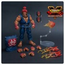 Street Fighter V Akuma Nostalgia Costume 1:12 Scale Action Figure
