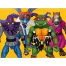 Super7 Teenage Mutant Ninja Turtles Ultimates Wave 1 Variant Set of 4