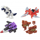 Transformers Titans Return Titan Master Ramhorn, Ptero, Apeface & Overboard Set