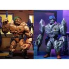 NECA Teenage Mutant Ninja Turtles General Traag and Granitor 2 Pack
