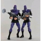 NECA TMNT Ninja Turtles Foot Soldier Army Builder Cartoon 2 Pack