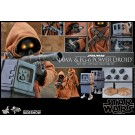 Hot Toys Star Wars EG-6 Power Droid & Jawa 1/6 Escala Figura 2 Pack