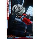 Hot Toys Spider-Man lejos de casa traje casero & ataque drone