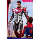 Hot Toys Iron Man Mark XLVII Reissue Spider-Man Homecoming 1/6 Scale Figure