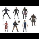 Marvel Legends Black Panther Wave 2 Set of 6 M'Baku Build A Figure