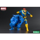 X-Men 92 Cyclops & Beast ArtFX Statue By Kotobukiya