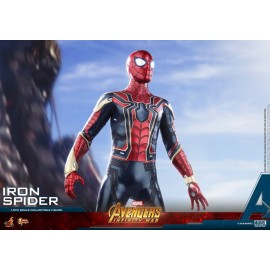 Hot Toys Avengers Infinity War Iron Spider 1/6th Scale Action Figure