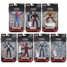 Marvel Legends Spider Man Capo conjunto de 7