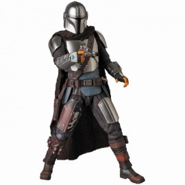 Star Wars Mafex The Mandalorian Beskar Armour & Child No 129 Action Figure