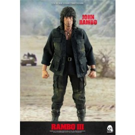 Rambo III John Rambo 1/6 Escala Action Figure By ThreeZero