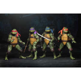 NECA TMNT Movie Turtles Set of 4 ( Teenage Mutant Ninja Turtles )