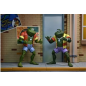 NECA Teenage Mutant Ninja Turtles Atilla and Napolean Frog 2 Pack