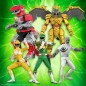 Super7 Mighty Morphin Power Rangers Wave 1 Set of 5 Ultimates Action Figures