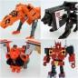 Transformers Masterpiece MP-15E / 16E Cassettebot Vs Cassettron Exclusive