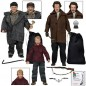 NECA Home Alone Retro Clothed 8 Inch Set of 3 Kevin, Harry & Marv