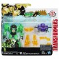 Transformers Robots in Disguise Decepticon Hunter Grimlock vs. Decepticon Back