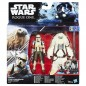 Star Wars Rogue One Scarif Stormtrooper and Moroff Deluxe Pack Figure