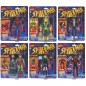 spider-man marvel legends retro collection wave 1 set of 6