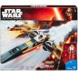 Star Wars The Force Awakens Poe Dameron X-Wing Fighter & Action Figure
