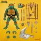 Super7 TMNT Michelangelo Teenage Mutant Ninja Turtles Action Figure