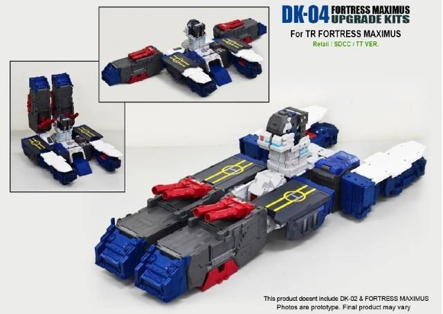 DNA Designs DK-04 Maximus Foot Upgrade Kit
