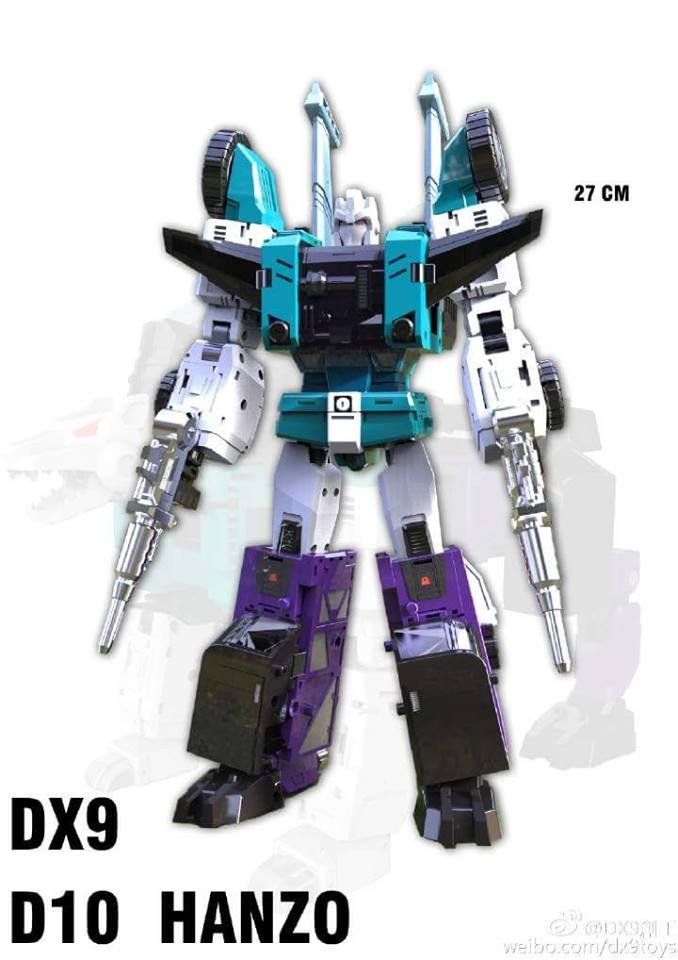 DX9 D10 Hanzo