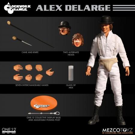Mezco One:12 Collective A Clockwork Orange Alex Delarge