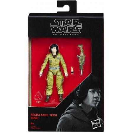 Star Wars Black Series 3.75 Inch Resistance Tech Rose