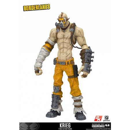 McFarlane Borderlands 2 Krieg Action Figure