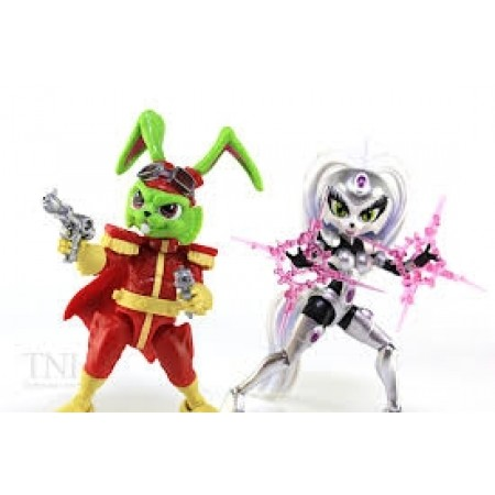 Bucky O'Hare Bucky & Jenny Set of 2 Action Figures