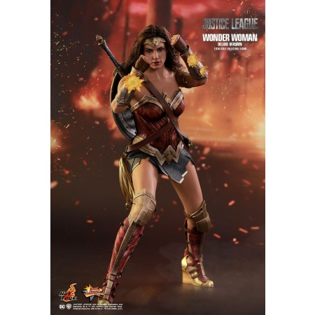 Hot Toys Justice League Wonder Woman (Deluxe Version) 1/6th Scale Collectible Figure