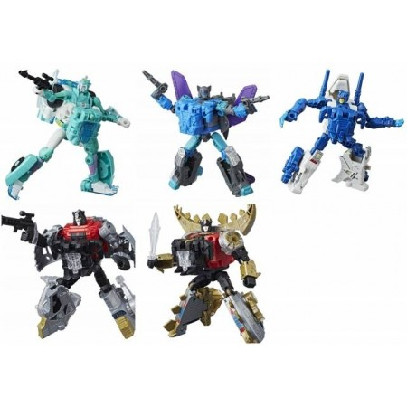 Transformers Power Of The Primes Wave 2 Set of 5