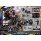 Hot Toys Guardians Of The Galaxy Vol 2 Rocket Deluxe Version 1/6th Scale Figure