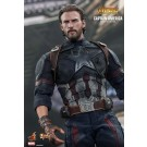 Hot Toys Avengers Infinity War Captain America 1/6th Scale Figure