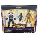 Marvel Legends Infinity War 3 Pack Thor Rocket & Groot