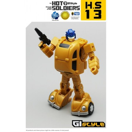 Mech Planet Hot Soldiers HS-13 Goldbug