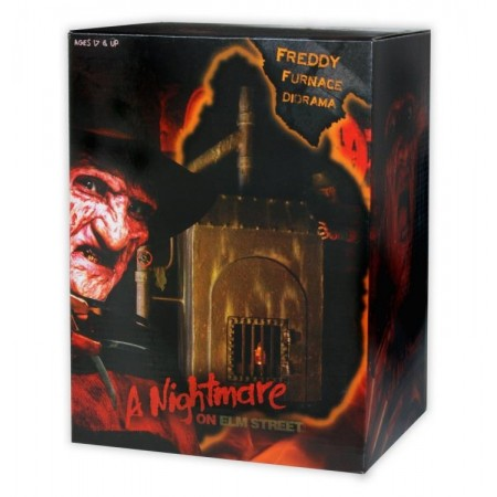 NECA Nightmare On Elm Street Freddy's Furnace Diorama