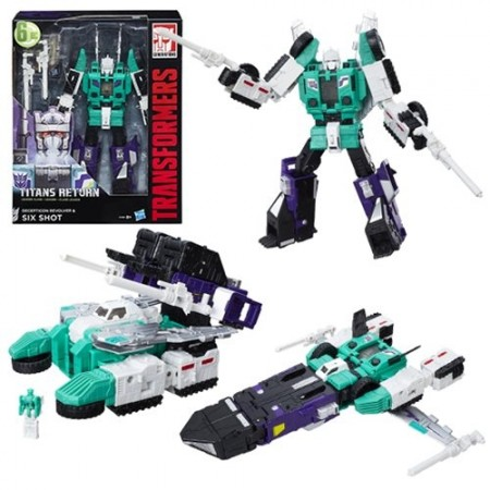 Transformers Titans Return Leader Sixshot