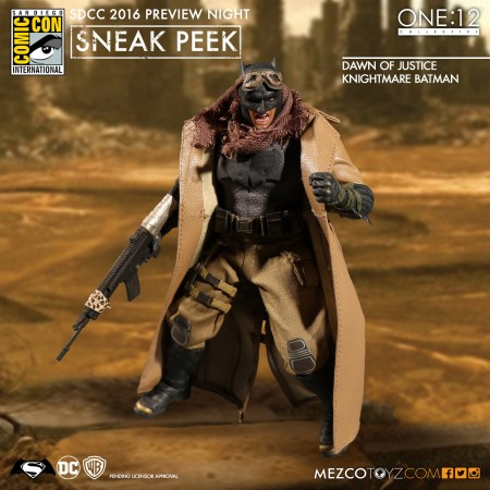BRAND NEW - Mezco One:12 Collective Knightmare Batman