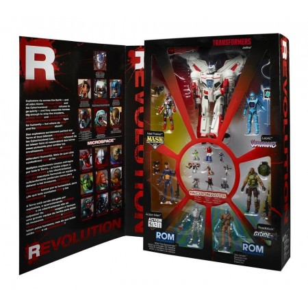 Hasbro SDCC IDW Revolution Box Set