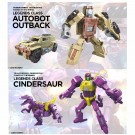 Transformers Power Of The Primes Legends Cindersaur & Outback