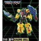 TFC Toys Trinity Force Raging Bull