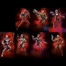 Marvel Legends Sasquatch onda conjunto de 7